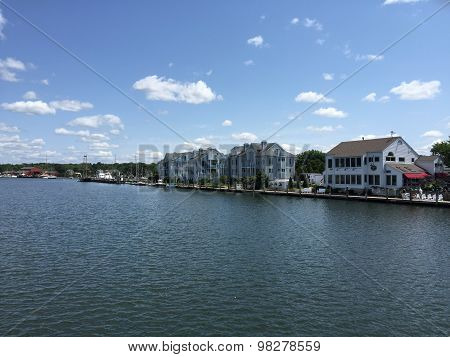 View of Mystic, Connecticut