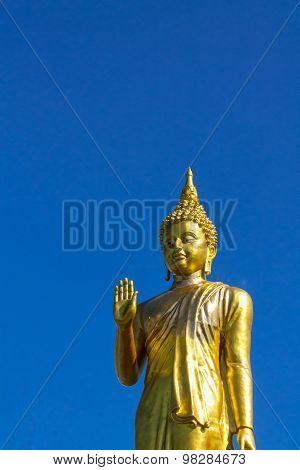 Golden Buddha .