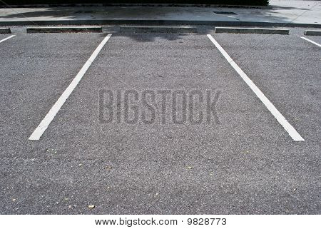Spaces in Parking Lot