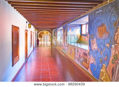 The Paintings In Monastery