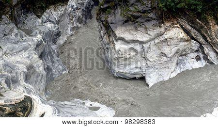 Marble canyon, Taroko Gorge