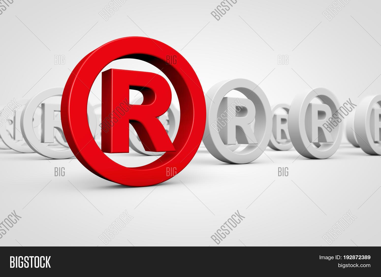 Business registered trademark image photo bigstock business registered trademark concept with red icon and many others mark symbol on background 3d illustration buycottarizona Gallery