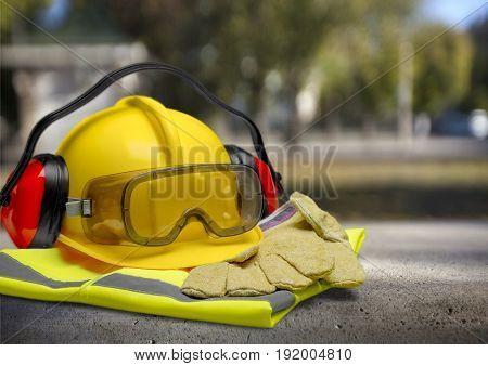 Laying builder staff asphalt under construction steel construction heavy equipment