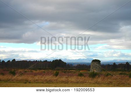 Culloden Moor, location of famous Jacobite battle in 1746