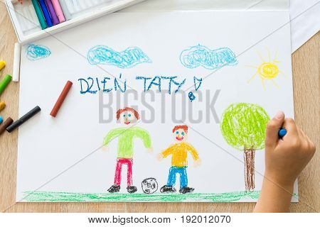 Dzien Taty - Polish Word For Fathers Day