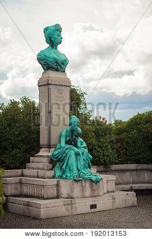 Marie, Princess Of Denmark Statue In Copenhagen