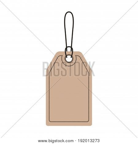 white background with color mark label vector illustration
