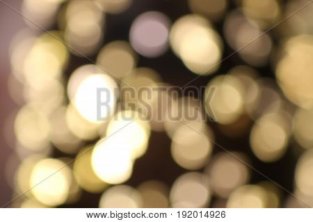 Abstract circular bokeh background of lights,Focus On Foreground,
