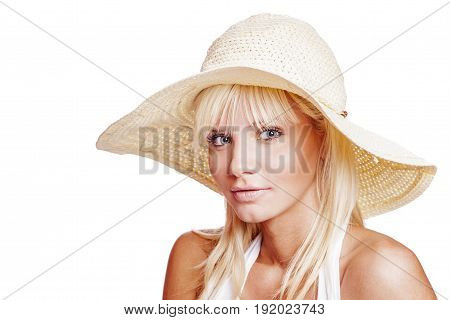 Young Blonde Woman
