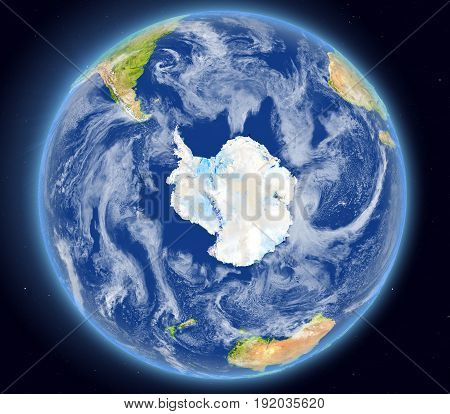 Southern Ocean From Space