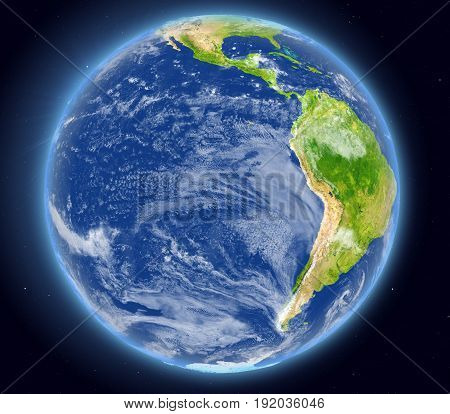 Eastern Pacific From Space