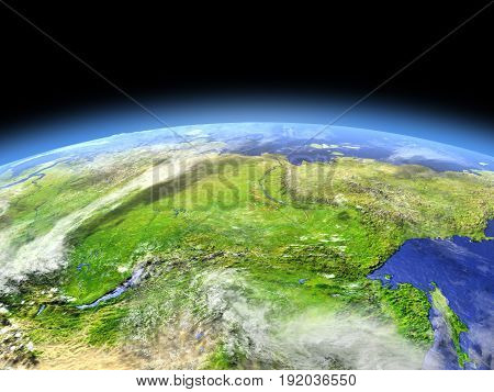 Siberia From Space