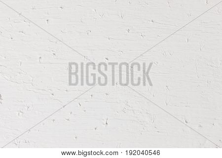 White Grungy Background Rough Texture Plaster Stucco Wall Abstract Structure Handmade Concept