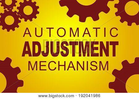 Automatic Adjustment Mechanism Concept