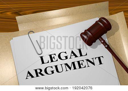 Legal Argument Concept