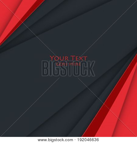 bright corporate vector design. Colorful material design template. Elements for your work. Eps10