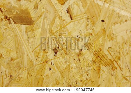 Wooden aggregate background in warm tone. Texture. Horizontal