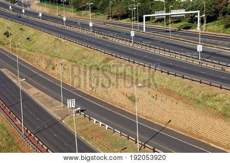 Freeway Passing Through Mhlanga Ridge  In Durban South Africa