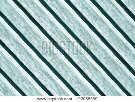Cyan Color Pvc Siding Wall.