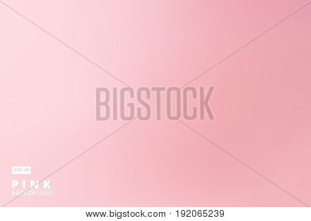 empty gradient pastel pink studio room background template business backdrop Vector Illustration for print ad brochure magazine poster leaflet