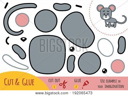 Education Paper Game For Children, Mouse