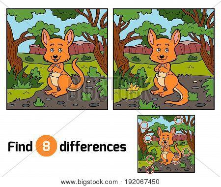 Find Differences, Kangaroo