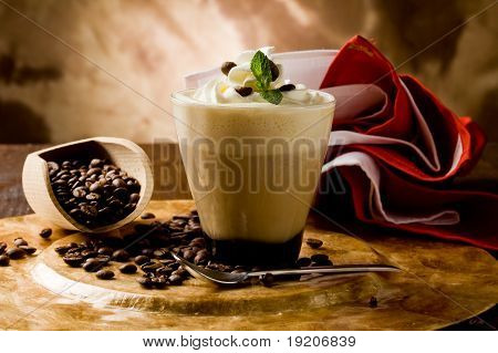 Cappucino With Whipped Cream