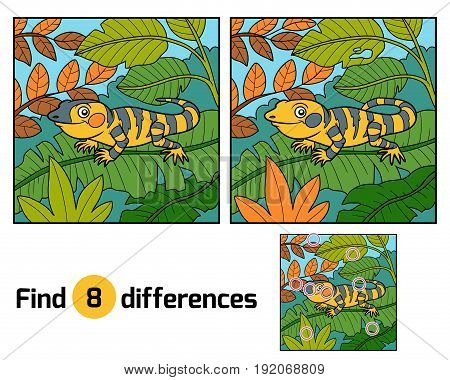 Find Differences, Xenosaurus
