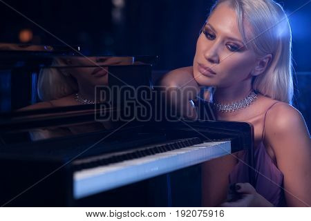 Romantic Touch Of A Piano