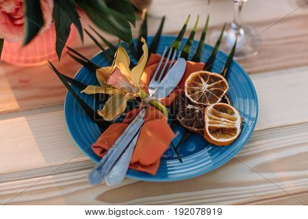 Romantic Dinner, Candles At Ocean Beach. Honeymoon, Proposal Or Wedding Background Concept