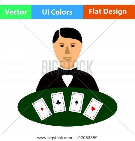 Casino Dealer Icon
