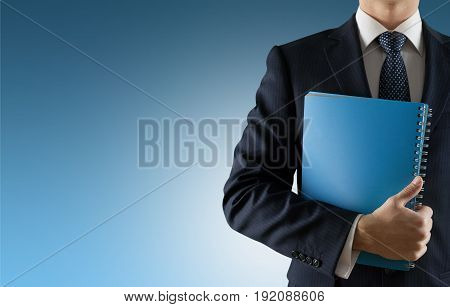 Business man suit elegant competitive background close-up