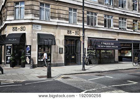 London Heist Location