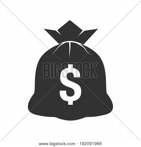 money bag icon - vector eps 10