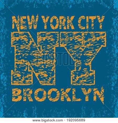 T-shirt New York sport design new york fashion typography graphics stylish print for sportswear apparel.