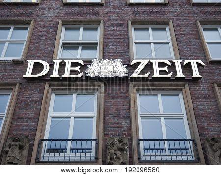 Die Zeit Headquarters In Hamburg
