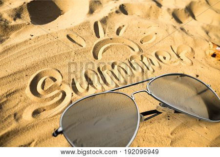 Sun beach sand sunglasses glasses sandy leisure