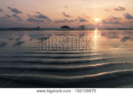 Sunset At Otres Beach, Cambodia