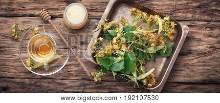 Tea With Linden Honey