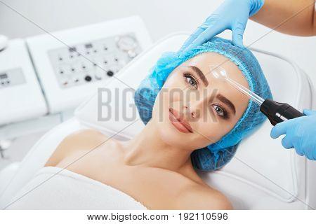 Procedure Of Darsonvalization