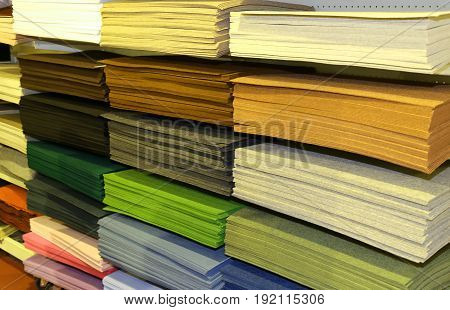 Fabrics For Sale At The Fair For Decoration And Leisure Hobbies
