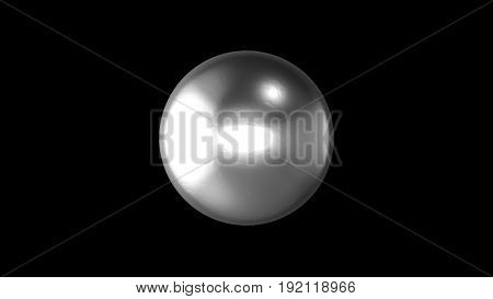 Abstract Background With Realistic Ball