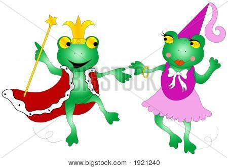 Queen And King Frogs