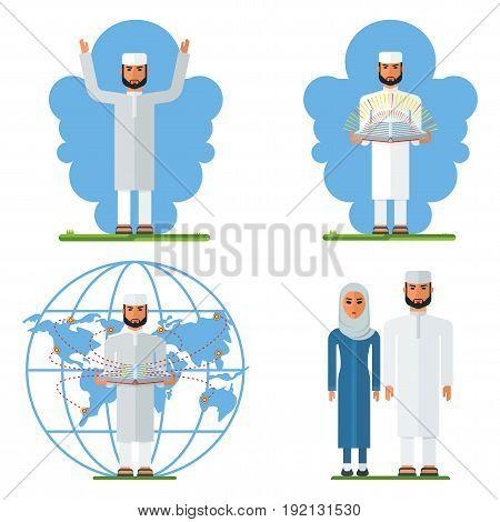 Set Arabian Man