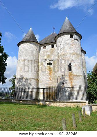 Chateau Des Tourelles In Vernon, France