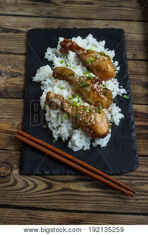 Chicken Teriyaki Legs