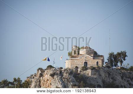 Church of the Prophet Elijah in Protaras Cyprus