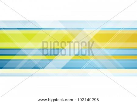 Abstract bright tech geometric background