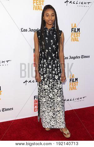 LOS ANGELES - JUN 19:  Tayler Buck at the 2017 Los Angeles Film Festival -