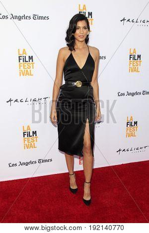 LOS ANGELES - JUN 19:  Stephanie Sigman at the 2017 Los Angeles Film Festival -